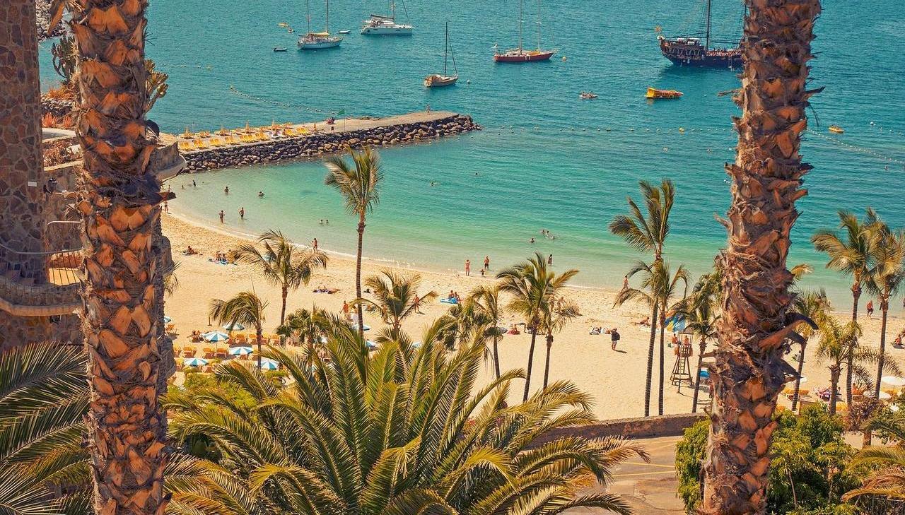 Las mejores playas de Gran Canaria desde Santiago