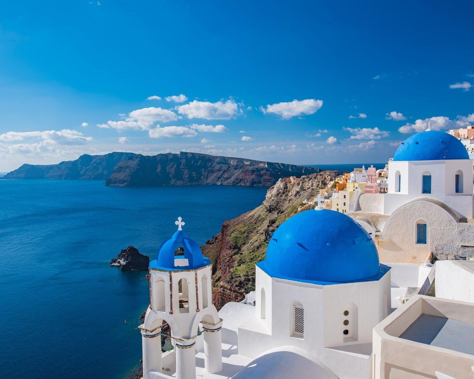 Viaje a Santorini, Grecia