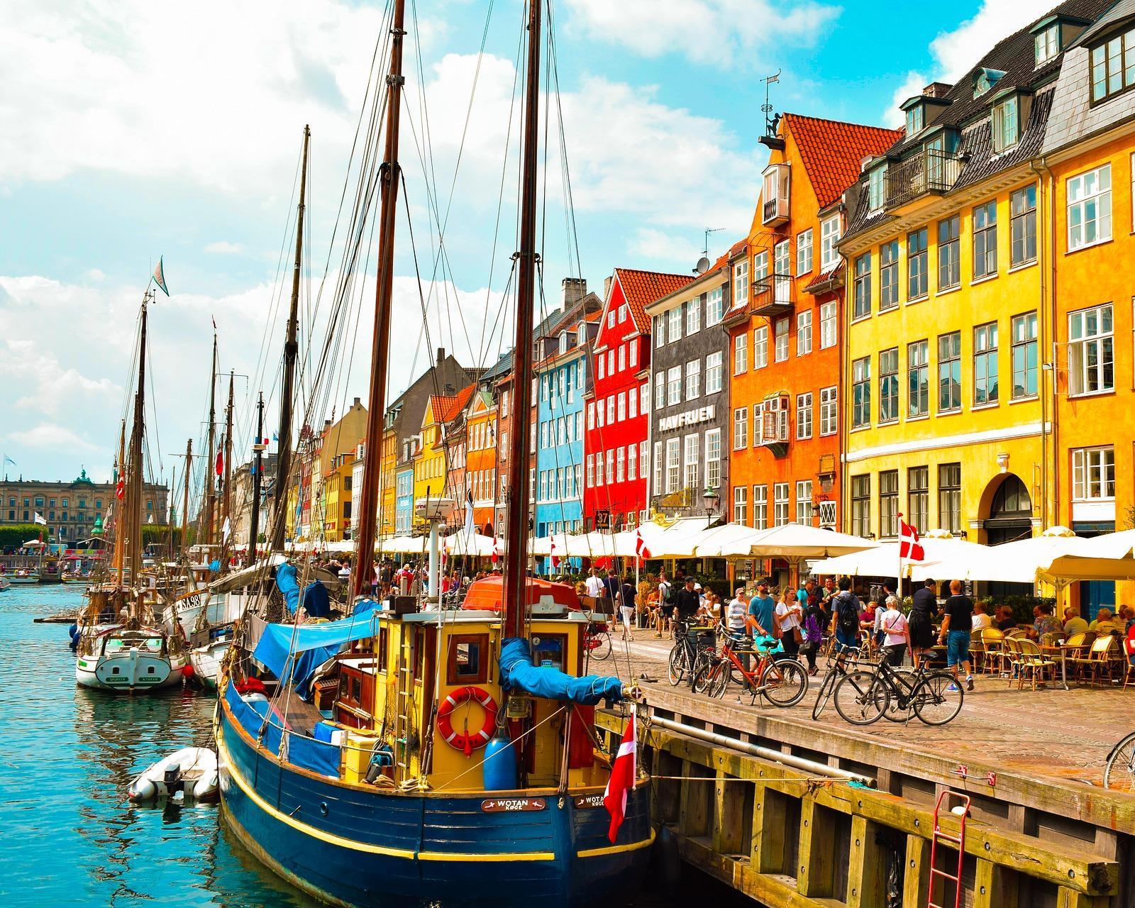 Viaje a Copenhague, Dinamarca
